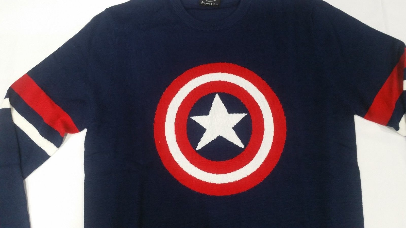 Details About Captain America Shield Marvel Comics Ugly Christmas