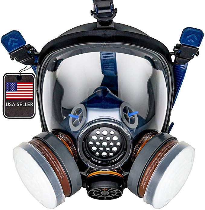 Pd 100 Full Face Organic Vapor Respirator Full Manufacturer