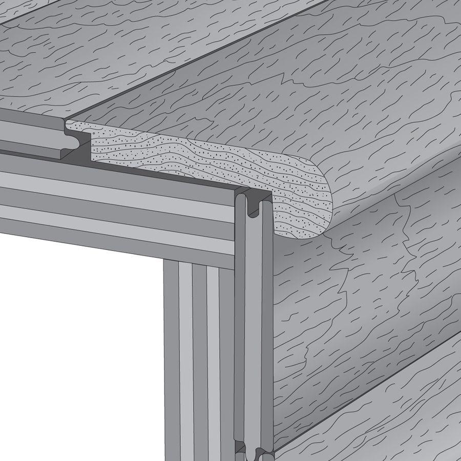 Shop Natural Floors By USFloors 3.25-in X 72-in Topaz