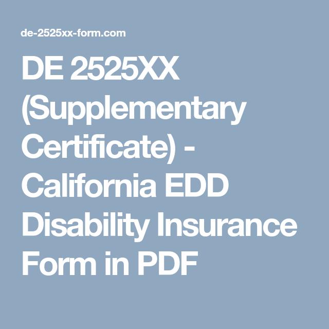 Printable De2525xx Form