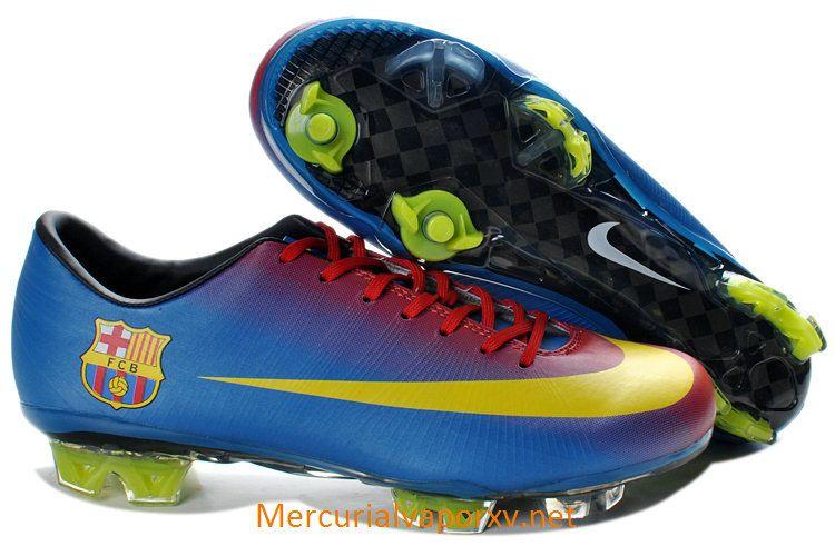on sale 2dccc a73be Nike Mercurial Vapor Superfly III FG Soccer Shoes Barcelona Home Team