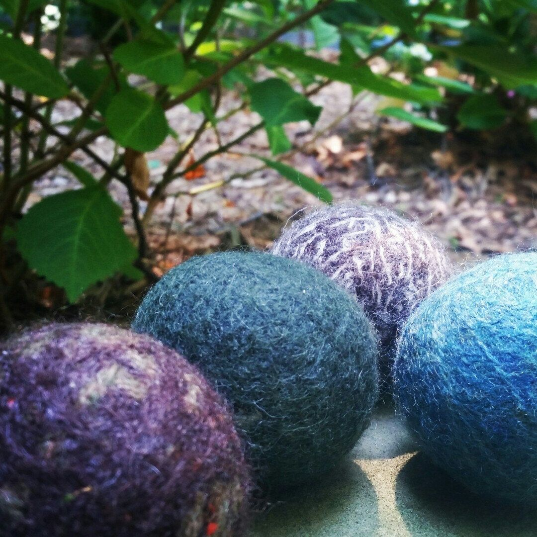 Are you using your wool dryer balls today?