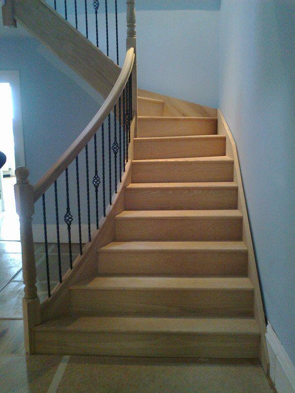 Best Handmade Stairs Ayrshire Scotland Custom Made Bespoke 400 x 300