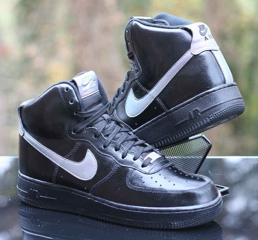 Nike Air Force 1 High LV8 07 Black Multicolor 806403-011 Mens Size 8.5