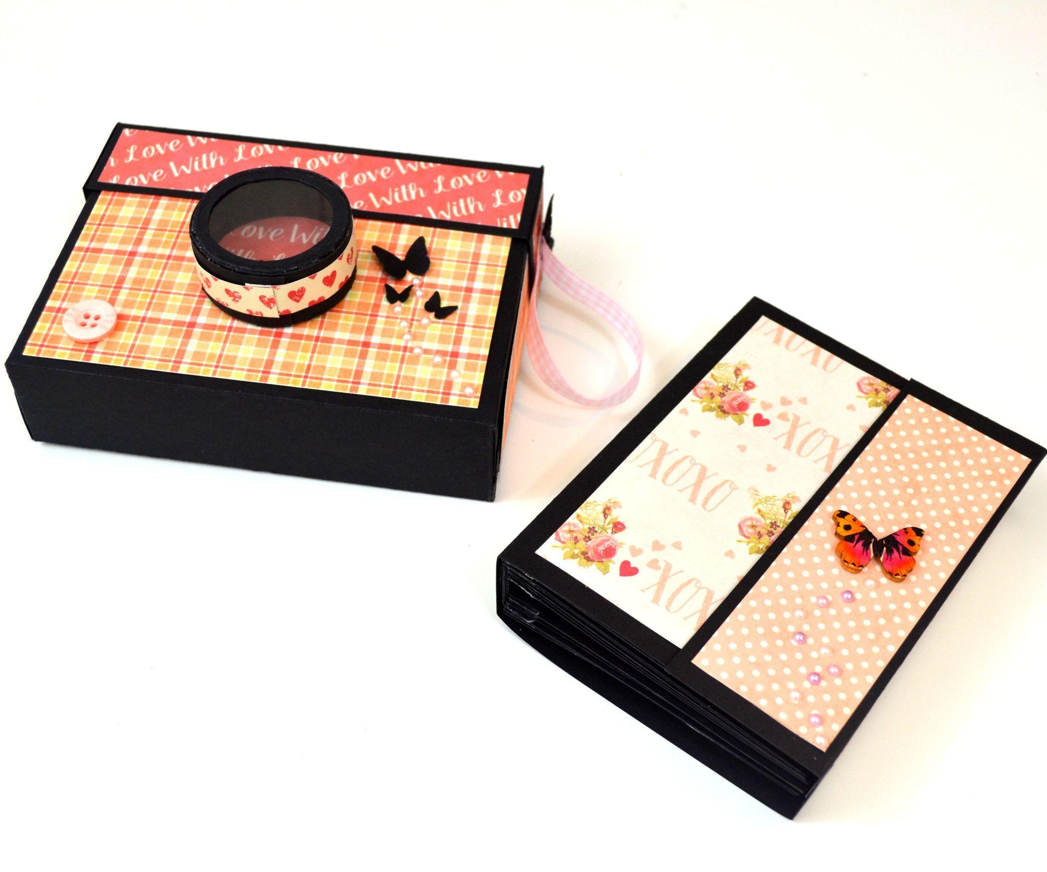 Diy paper crafts how to make a photo mini album