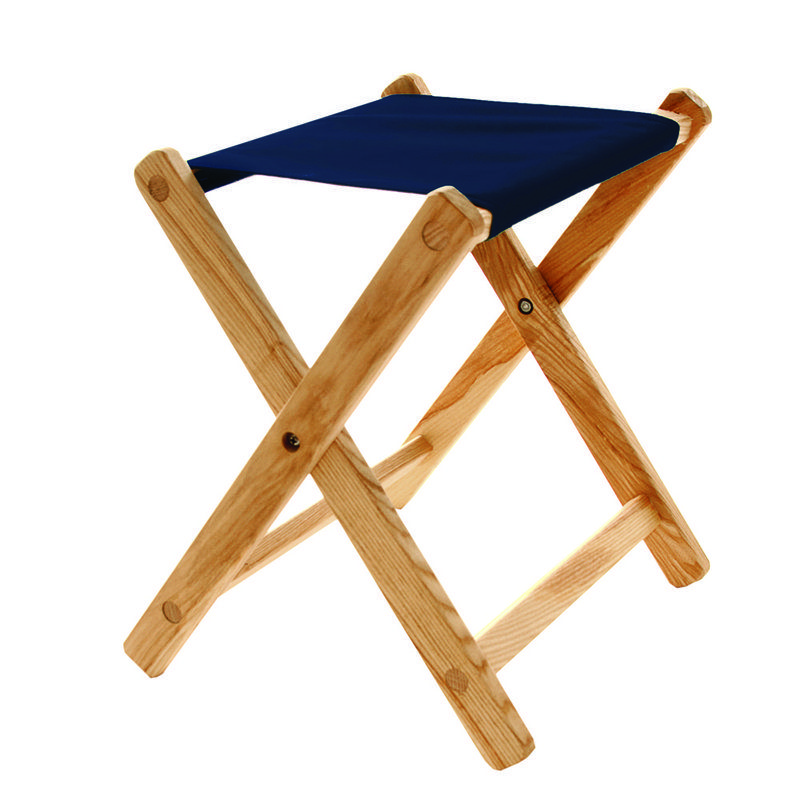 Wood & Canvas Deluxe Folding Stool variant
