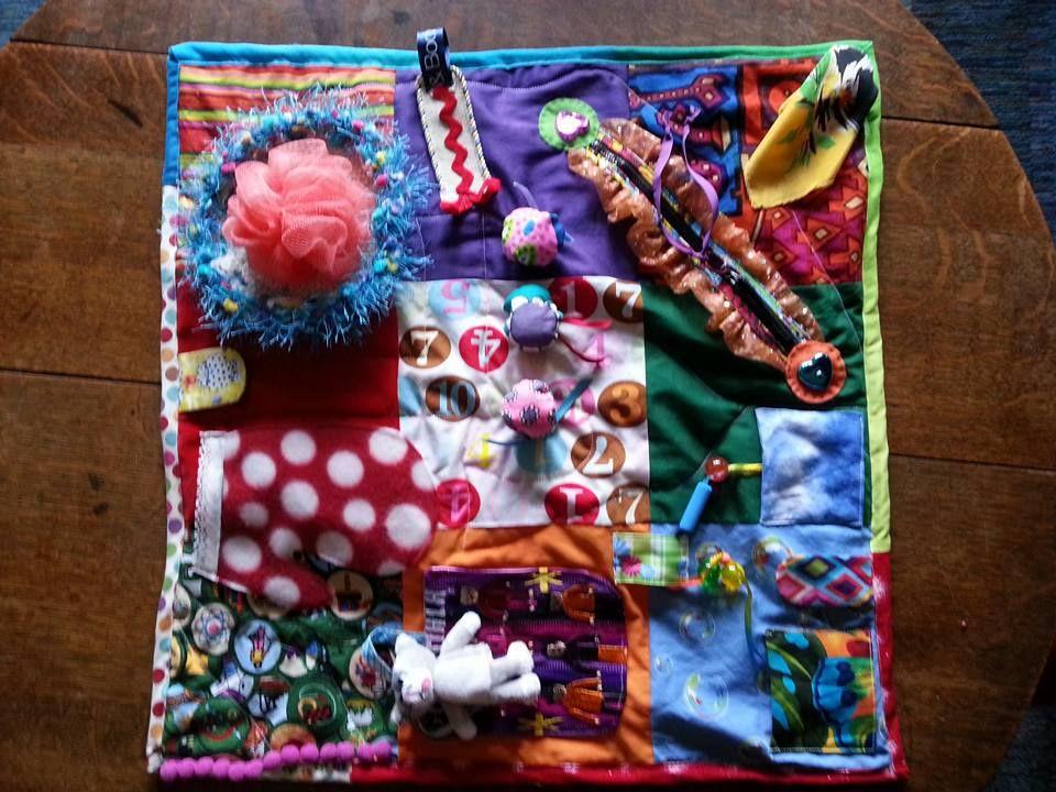 Fidget Quilt Fidget Quilt Sewing Activities Dementia Crafts