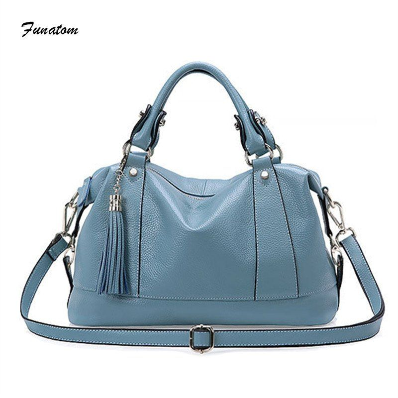303ee9469074b Women Bag 2018 Luxury Brand Designer Casual Women Genuine Leather Handbags  Fashion Women's Shoulder Messenger Bags For Women