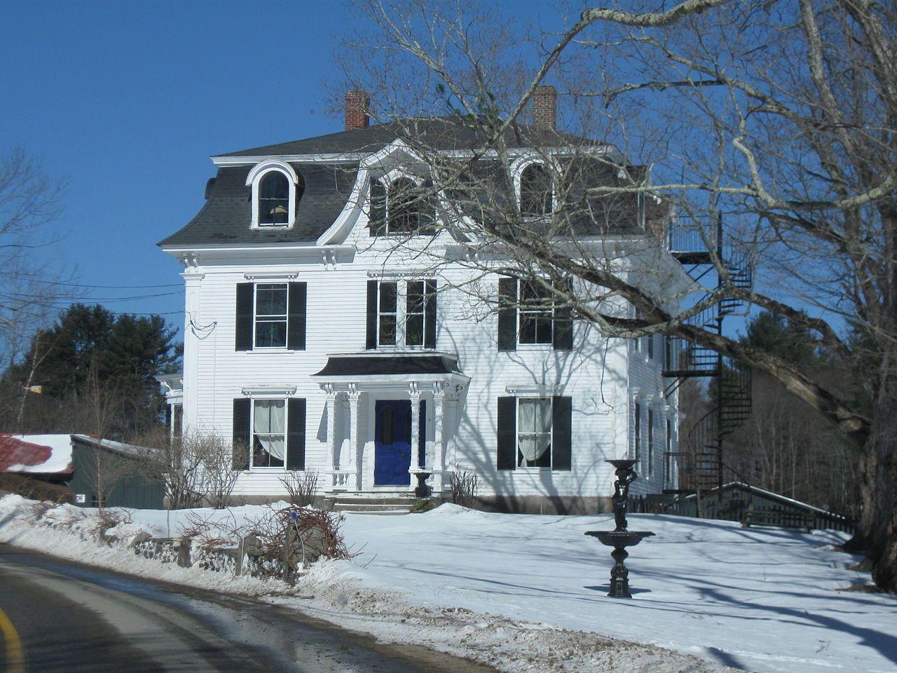 Benjamin franklin prescott house in rockingham county new