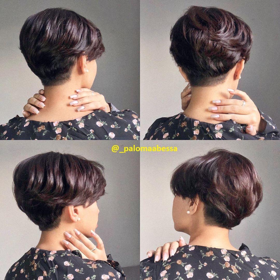 Kurze Dunkle Haare Kurzhaar Frisuren Frisuren Stil Haar Kurze Und Lange Frisuren In 2020 Kurze Dunkle Haare Dunkle Kurze Haare Schone Frisuren Kurze Haare