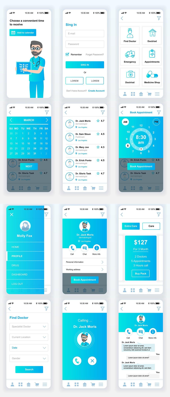 Pin On Ui Web Mobile app ui design template