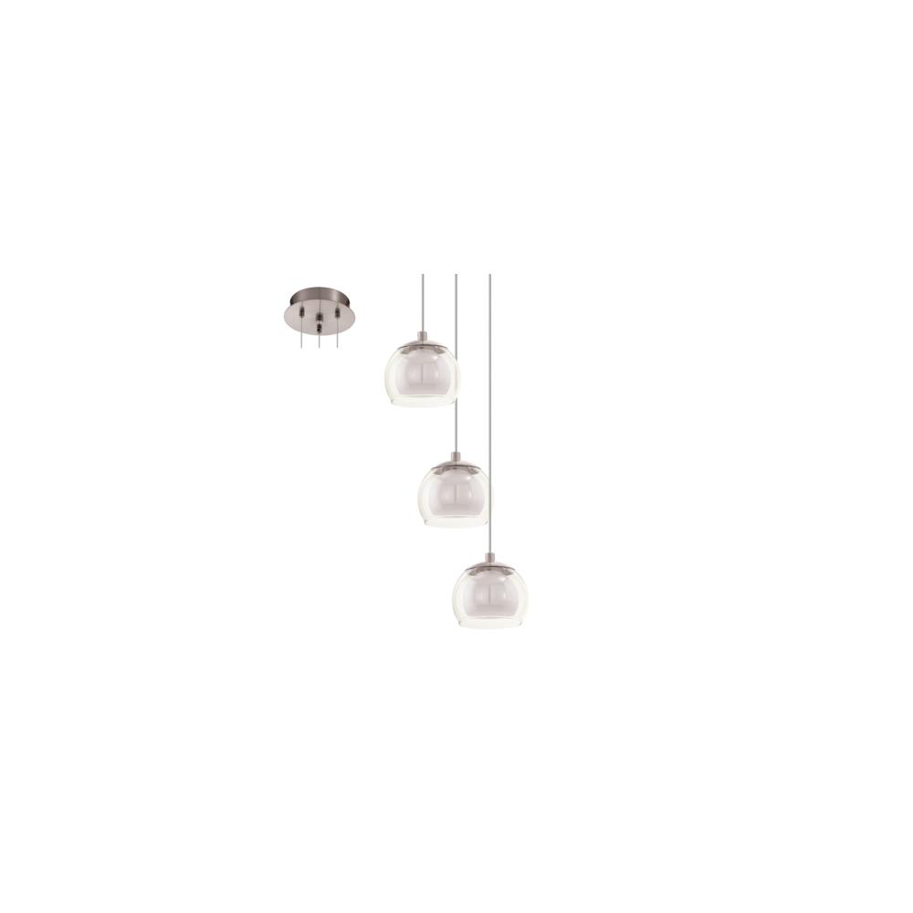94317 Ascolese 4 Light Ceiling Pendant Satin Nickel Ceiling  # Muebles Gayro Cadiz