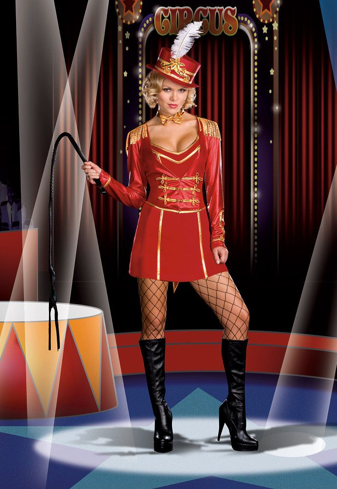 8687c8fdf Women's Costumes :: Wild Fantasy Costumes :: Ringmaster Circus Lion Tamer Showgirl  Fancy Dress Halloween Costume Outfit - Fancy Dress Costumes, ...