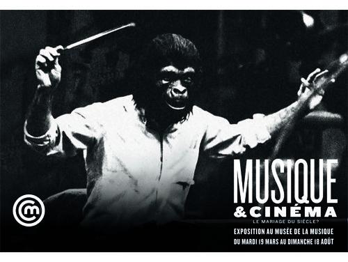 Musique Et Cinema Le Mariage Du Siecle Jusqu Au 18 Aout Ne Manquez Pas Cette Exposition A La Cite De La Musique La Magie Du Cine Cinema Exposition Musique