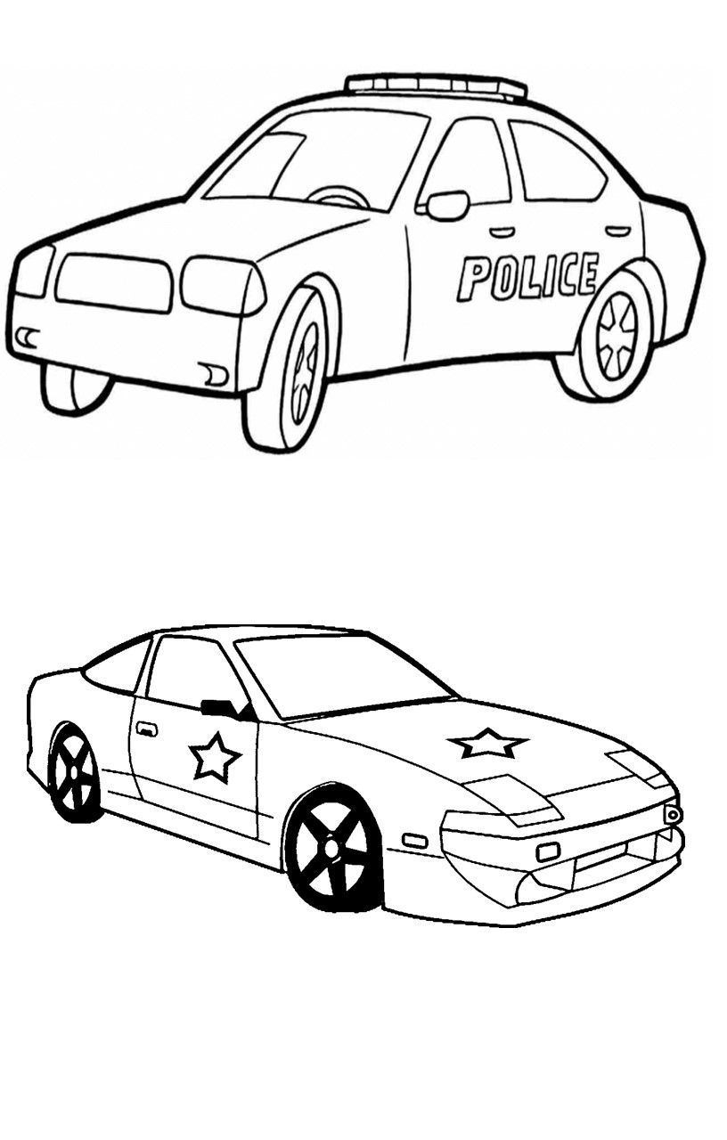 Race Car Coloring Pages For Your Little Kids (11 Sheets ...