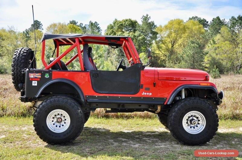 Car for Sale 1980 Jeep CJ (With images)