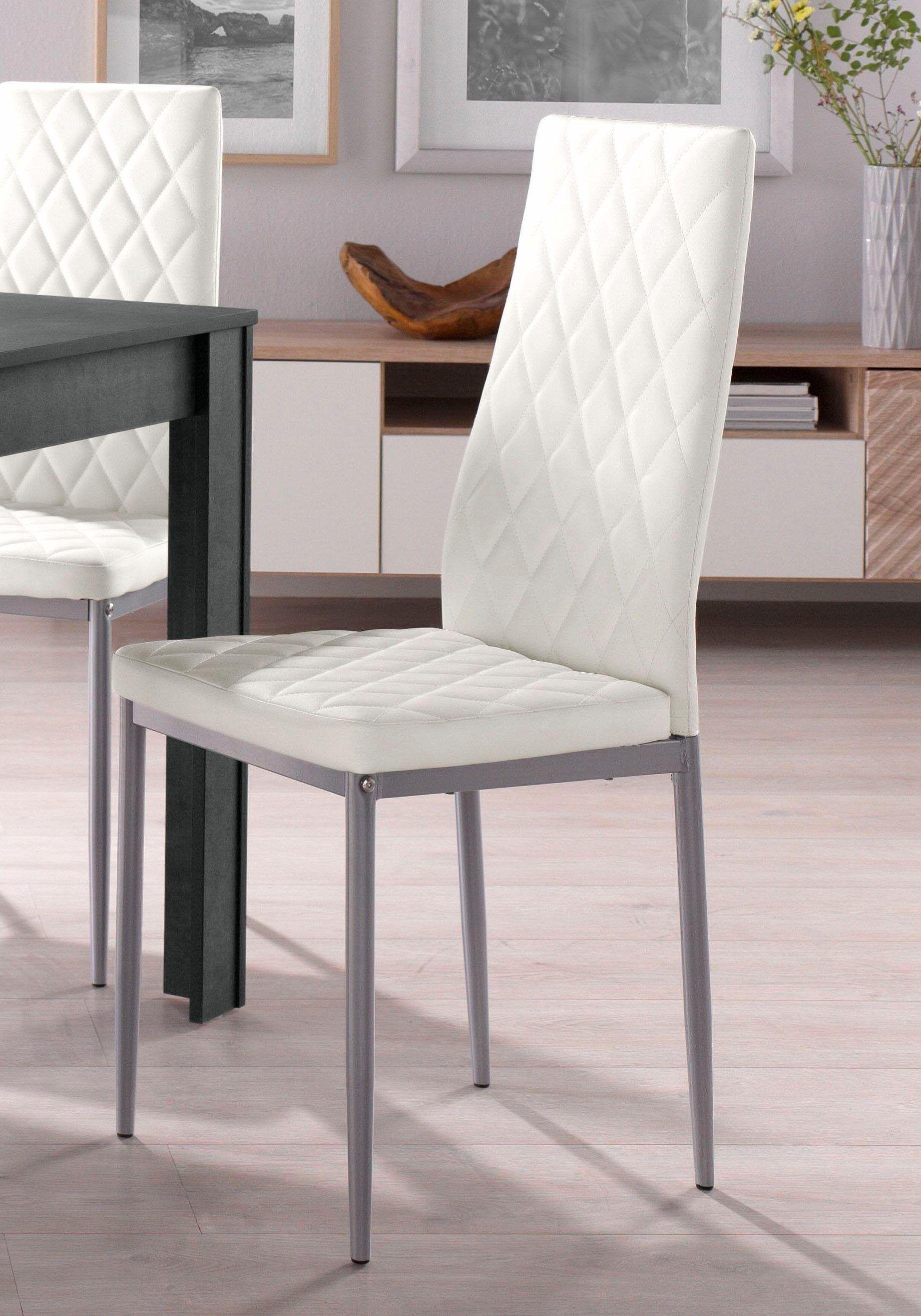 Stuhle 2 Oder 4 Stuck Weiss 4er Set Pflegeleichtes Kunstleder Yourhome Jetzt Bestellen Unter Https Moebel Ladendi Freischwinger Wohnzimmer Stuhle Stuhle