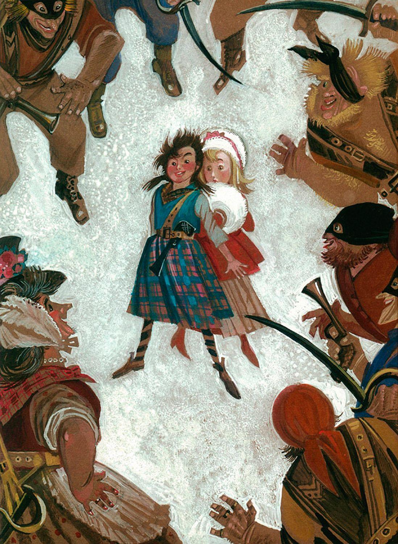 The art of animation nika goltz the snow queen gerda little robber girl