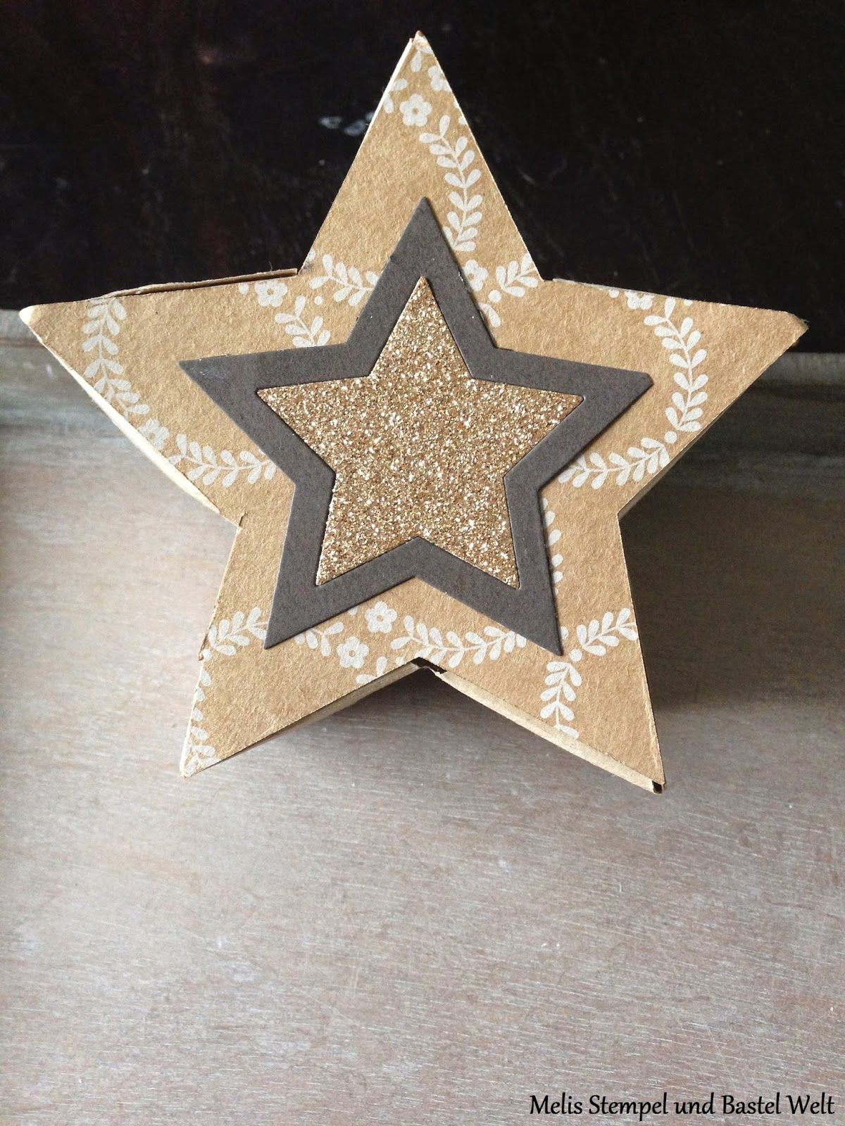 Stampin Up, Box, Verpackung, Geschenkschachtel, Sternen Kollektion, Star