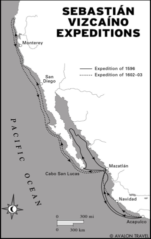 map of cabrillo voyages - Google Search