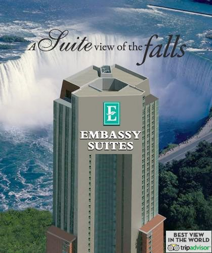 Emby Suites By Hilton Niagara Falls Fallsview Canada Hotel Near And Attractions