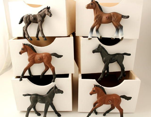 Children S Horse Cupboard U0026 Drawer Knobs, Set Of Six Horses For Horse Themed