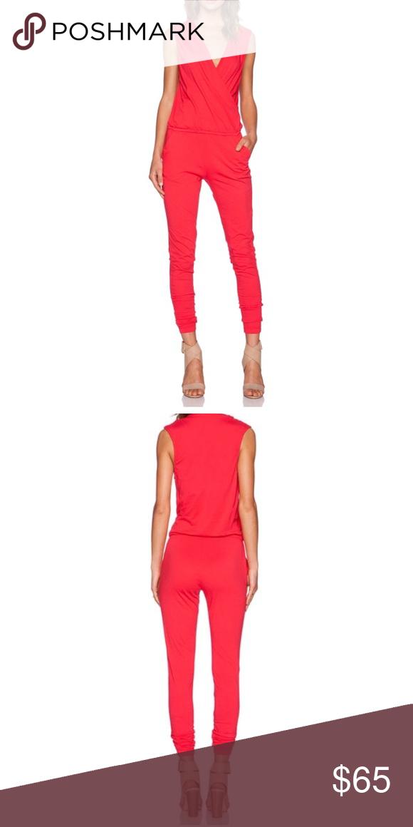 Bobi Supreme Jersey Jumpsuit Light Raspberry Xs Supreme Pant