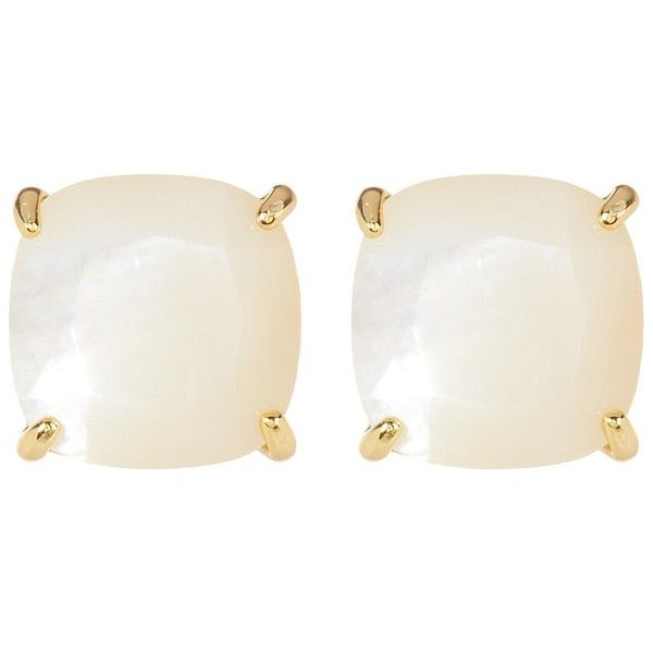 Ariella Collection Semi Precious Stud Earrings 15 Liked On Polyvore Featuring Jewelry