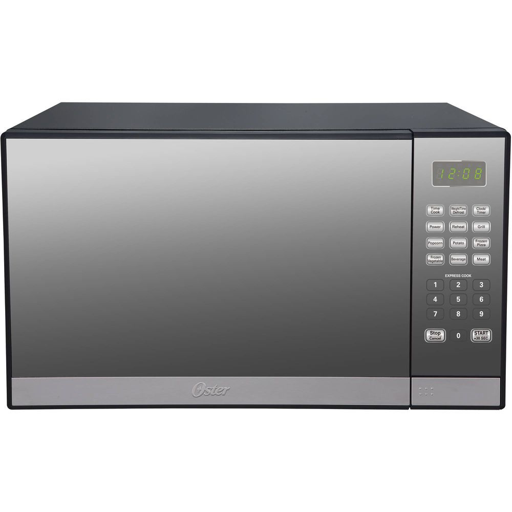 Countertop Microwave Toaster Oven With Grill Black Small 1000