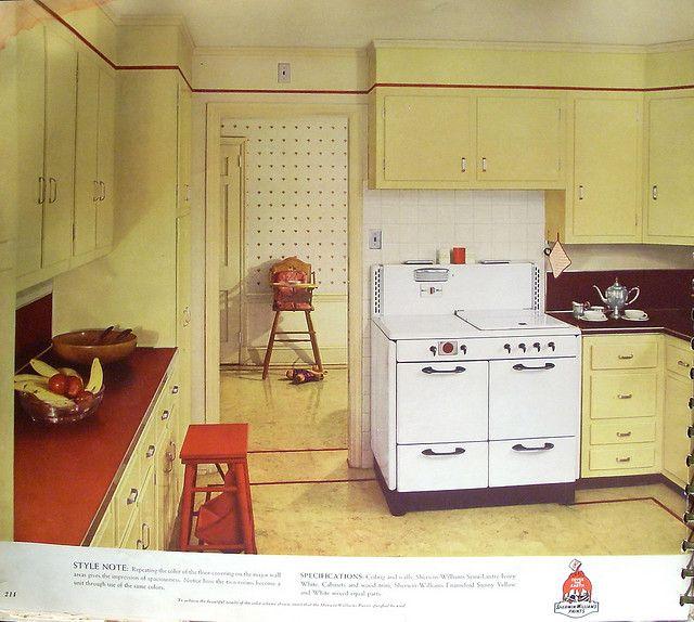 1940 kitchen paint colors 3d house drawing