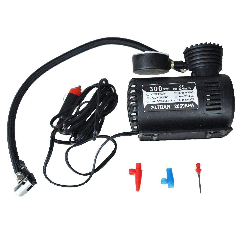 SODIAL(R) 12v Car Auto Electric Pump Air Compressor