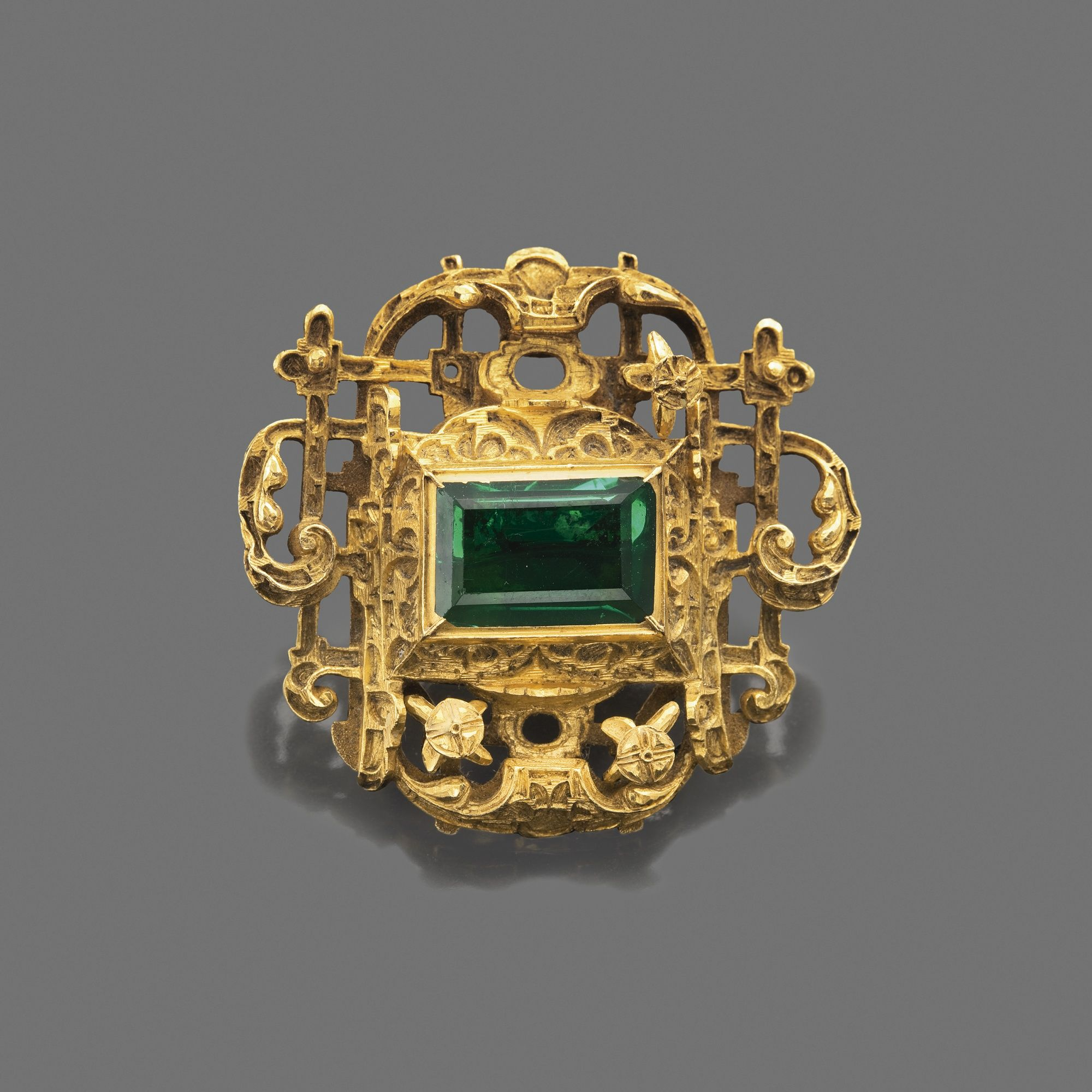 yellow design ring grinstein jewelry rings gold emerald format renaissance