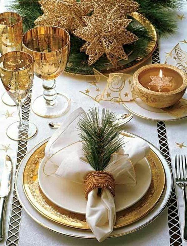 La Décoration De Table Pour Noël - Plaisir Et Style - Archzine.Fr