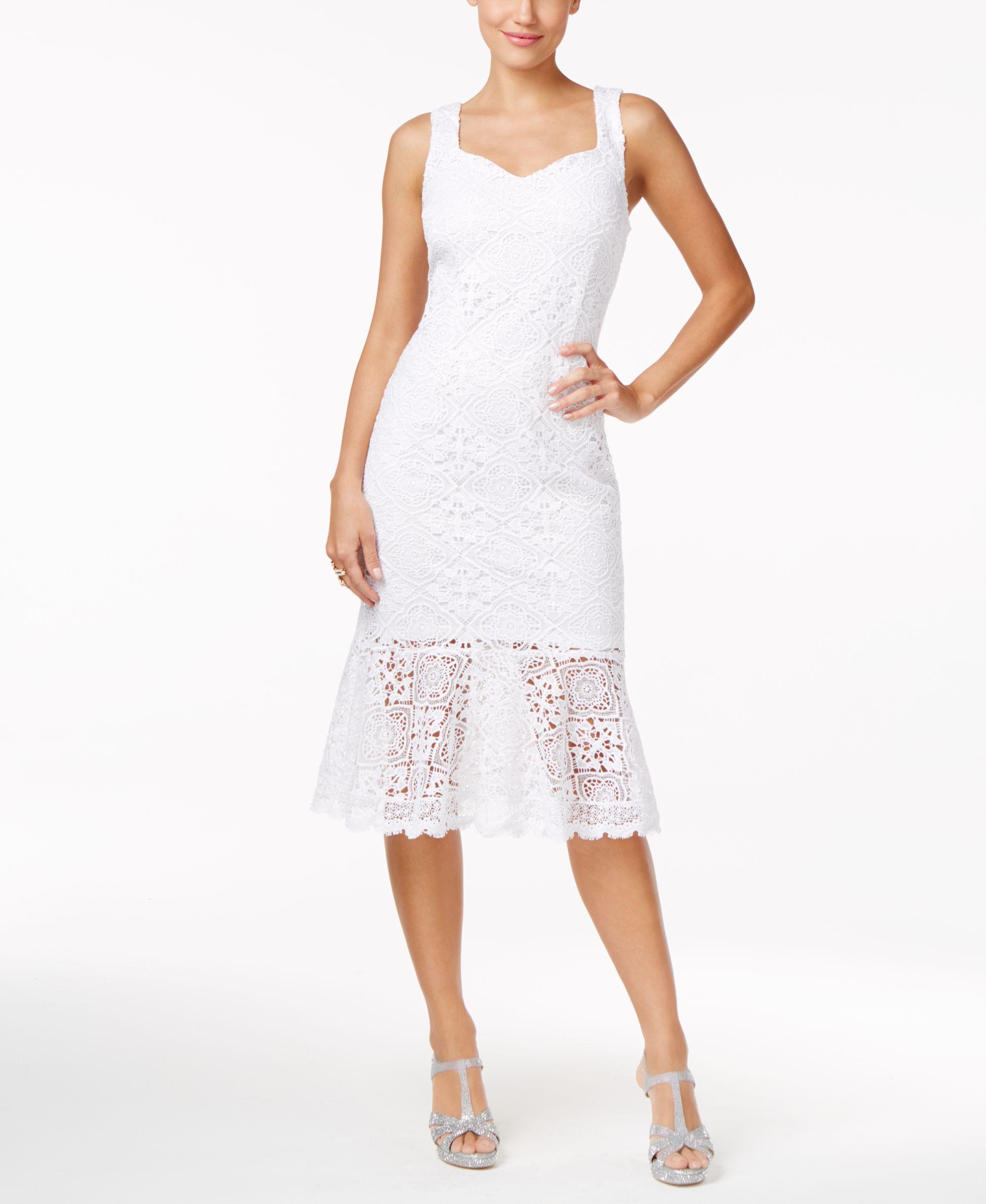 Thalia sodi lace sheath dress only at macyus products pinterest