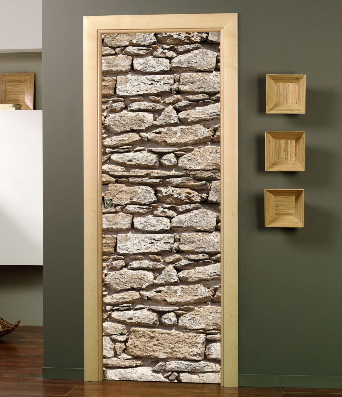 Door Wall Sticker Door Mural Door Wrap Door Sticker peel and