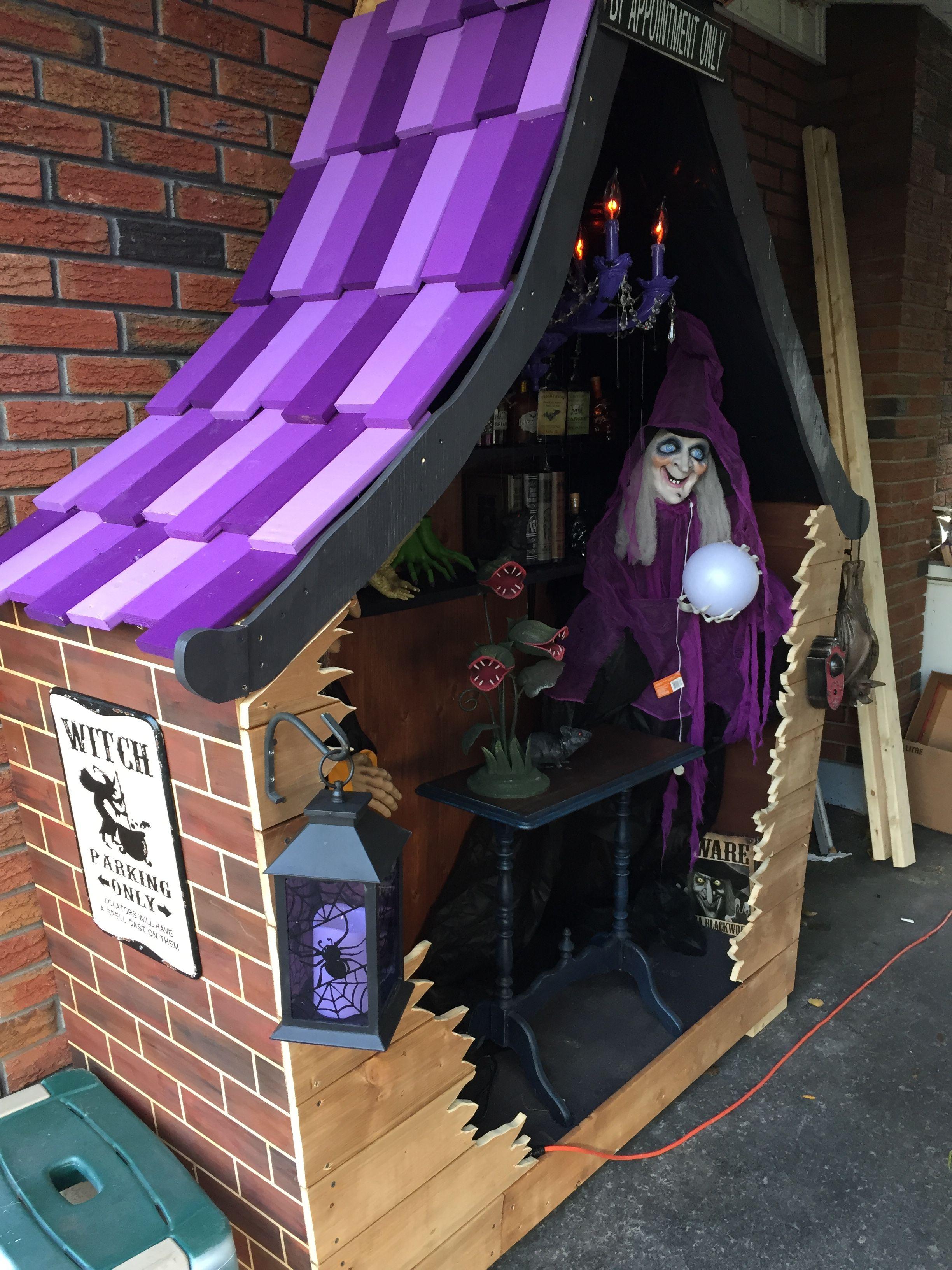 Decoration Sorciere Halloween.Maison De Sorcière Inspiration De Décorations D