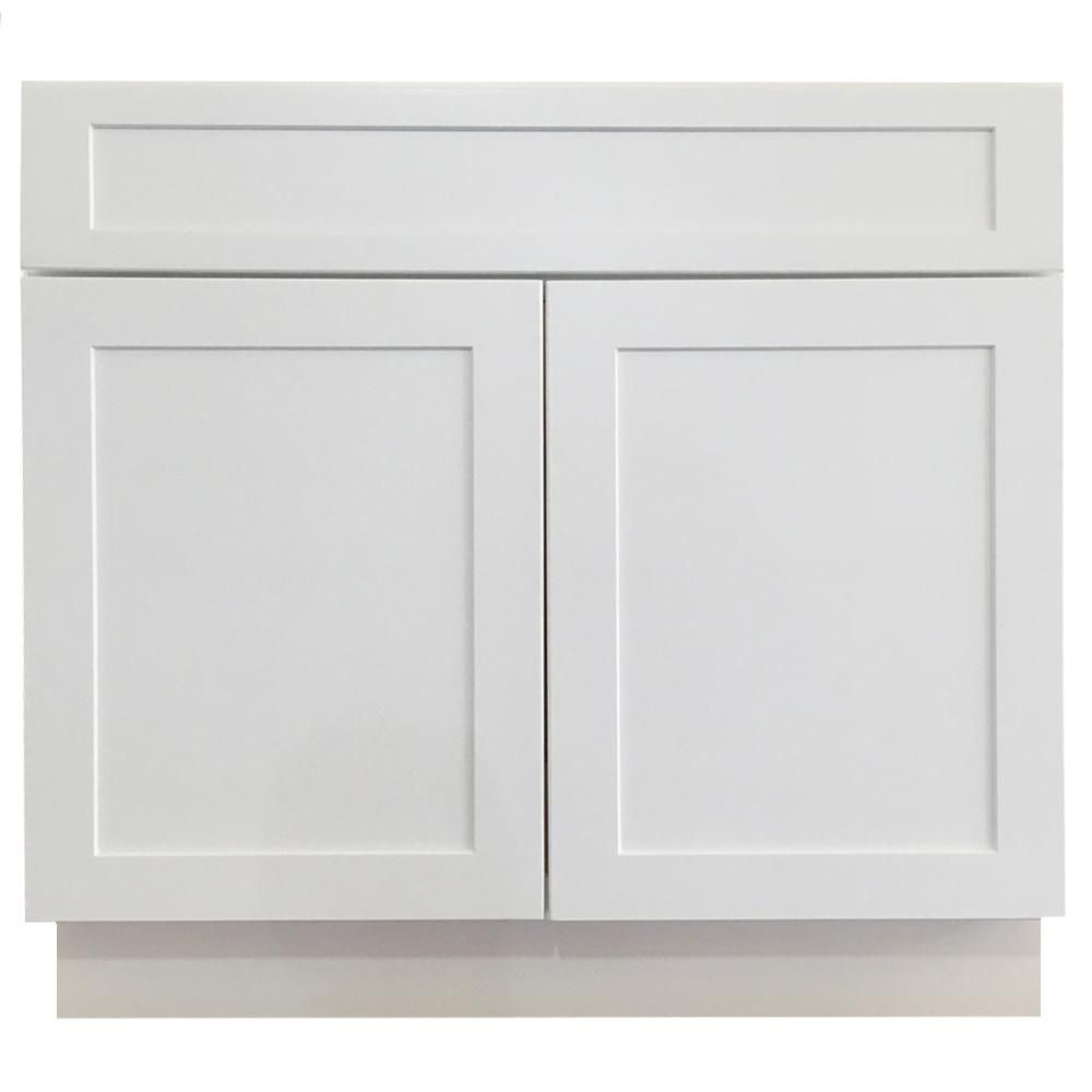Best Cabinet Collection Shaker Ready To Assemble 36X34 5X24 In 400 x 300