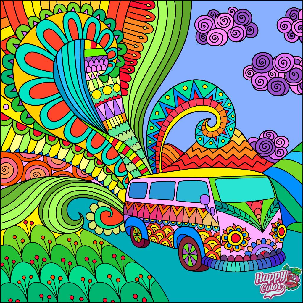 Пин от пользователя Agless на доске Happy Color App ...