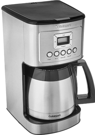 Cuisinart Dcc 3400 Stainless Steel Thermal Coffeemaker 12 Cup Carafe Cuisinart Coffee Maker Thermal Coffee Maker Best Coffee Maker