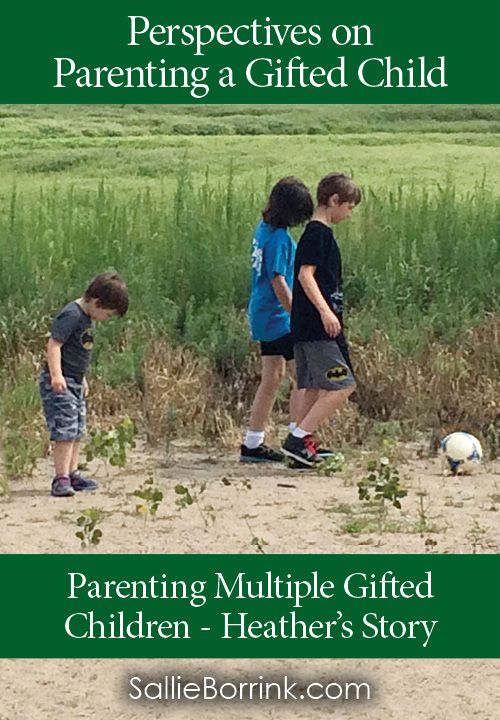 What is it like to parent multiple gifted children? Read this mom's story.  Gifted/2e  |  Gifted children  | Parenting Gifted Children  |  Twice Exceptional Children  |  Parenting Tips  |