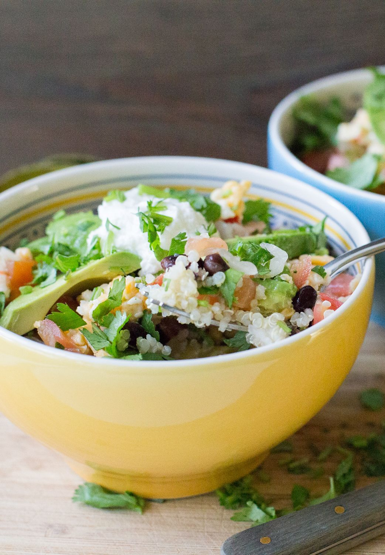 Bol de Quinoa | En Mi Cocina Hoy Bol de Quinoa.