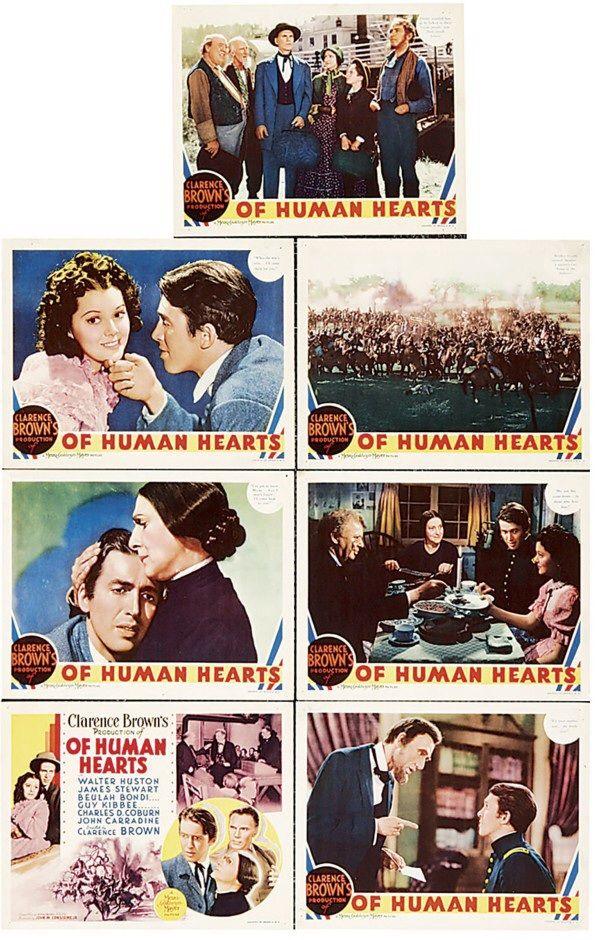 Of Human Hearts (1938) James Stewart, Beulah Bondi, Walters Huston
