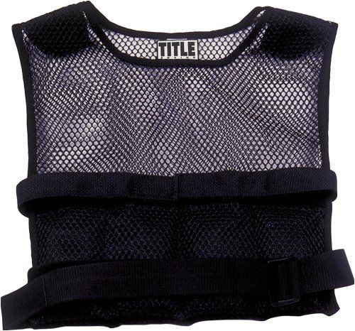 BESTSELLER! TITLE Boxing Deluxe Weighted Vest (20Pounds