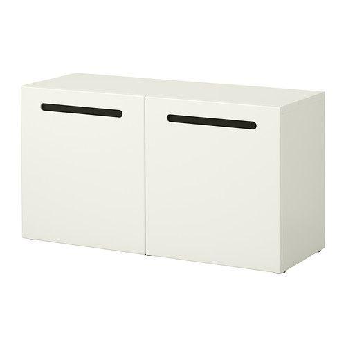 BESTÅ Scaffale con ante - Marviken bianco - IKEA