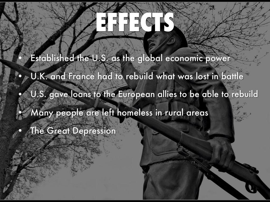 Efects Of World War 1
