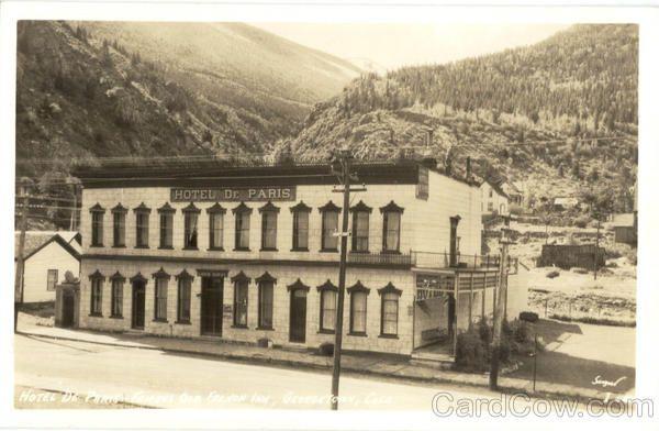 Hotel De Paris Georgetown Colorado