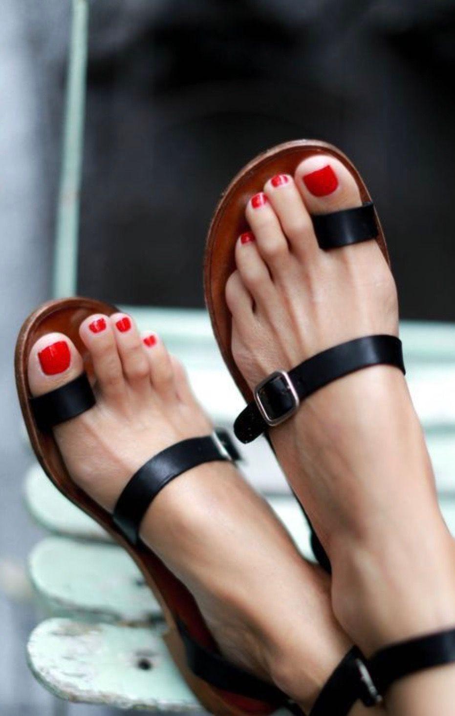 d37845131284 Zapatos  jacintachiang Black Flat Sandals