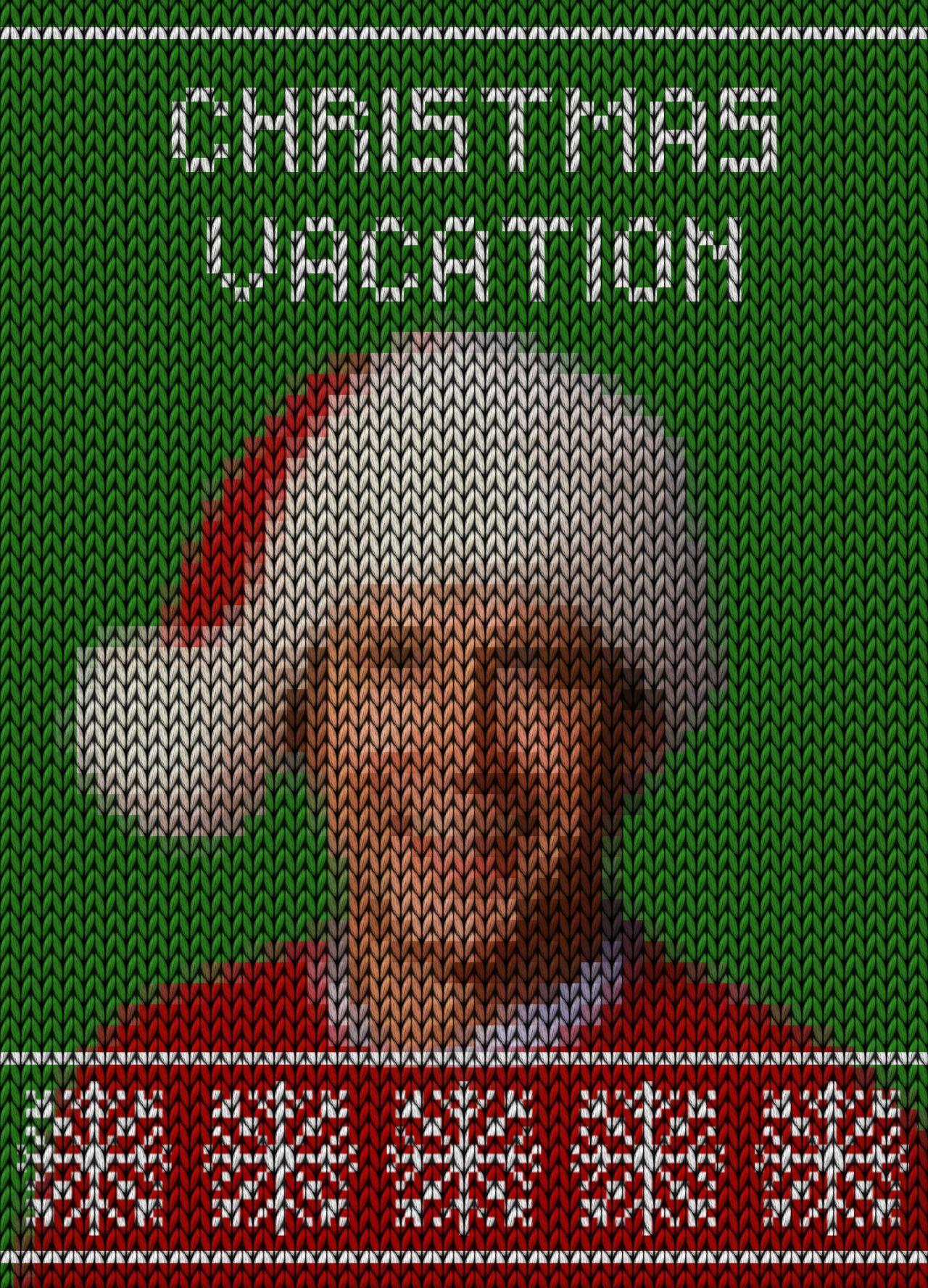 Day 348: National Lampoon's Christmas Vacation. #amovieposteraday