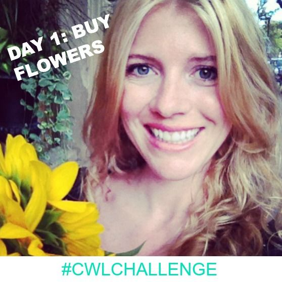 It's the first day of the Crazy Wild Love Holiday Challenge!I believe that true love and happiness is created by taking one small action a day. Today I invite you to buy yourself some fresh flowers. Wanna join us to get the juicy details on all the challenges and hang with our crew? Go to http://alexismeads.com/crazy-wild-love-14-day-challenge/ to join us.