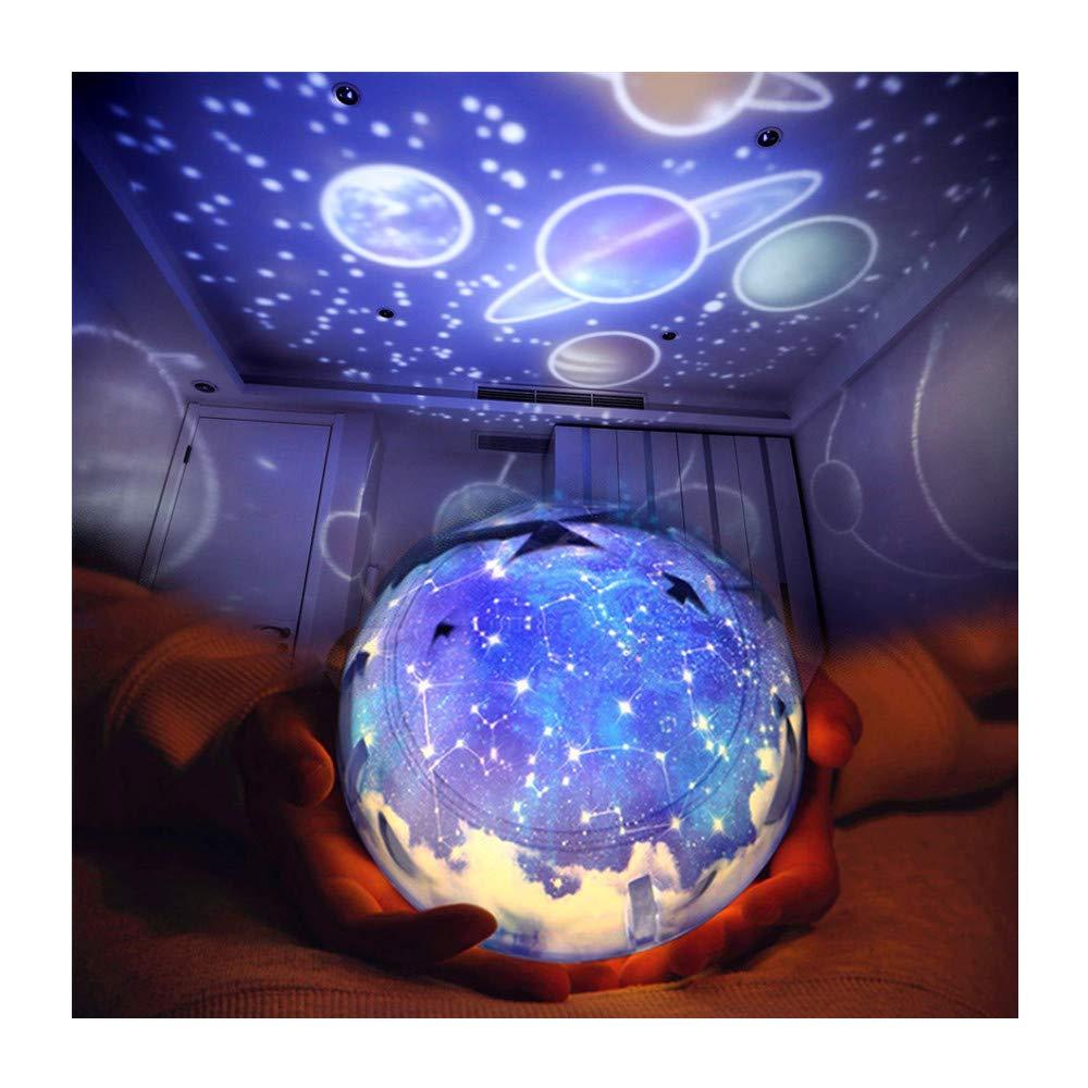 Romantic Star Night Light Projector Lamp Universe Night Light Kids Birthday Gift